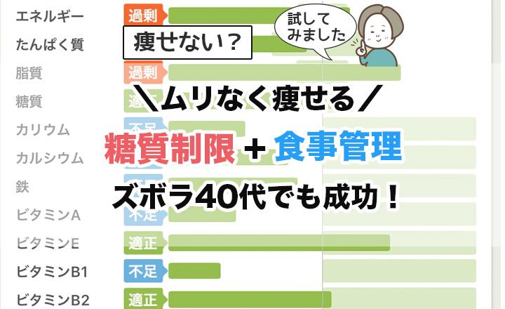 【40代3ヶ月で4キロ痩せた】糖質制限+食事管理で楽しくダイエット | Mienai-ミエナイ-さかぽんブログ